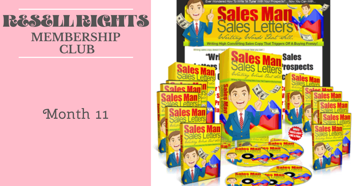 Resell Rights Club Month 11 Downloads
