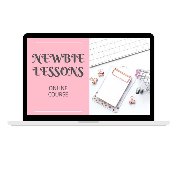Newbie Lessons Online Course